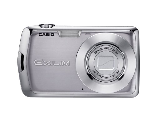 Casio Exilim EX-S5 10.1MP Digital Camera with 3x Optical Zoom and 2.7 inch LCD (Silver)