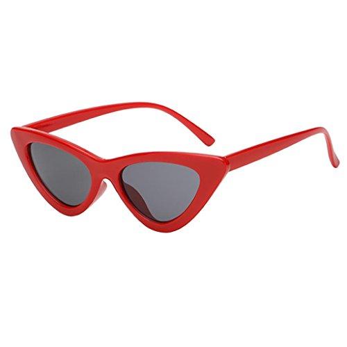 Rond Uv Lunettes Goggles Adulte Baoblaze Rouge Vintage Soleil De Gris Protection Unisexe Style xaAwnqBd