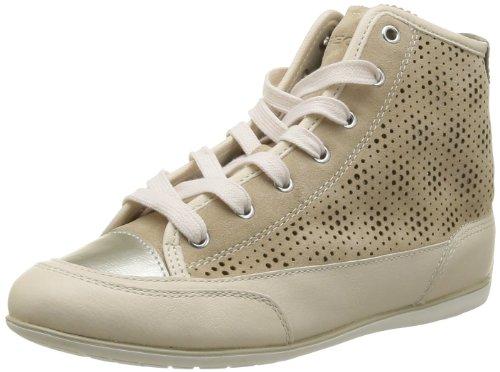 D Geox Nouveau Moena D, Zapatillas Para Mujer, Beige, 39 I