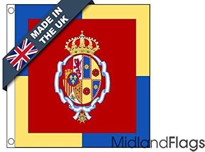duraflag® Personal estándar de Letizia, reina de España Bandera de ...