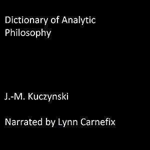 Dictionary of Analytic Philosophy Audiobook