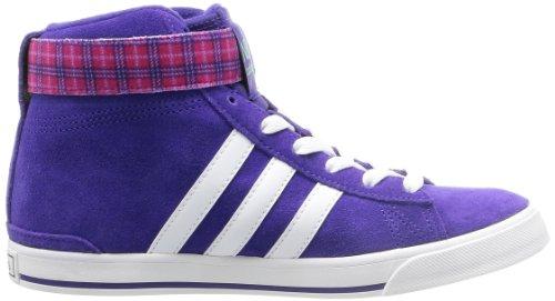 adidas Bbneo Daily Twist M - Zapatillas de Piel para mujer Morado violeta