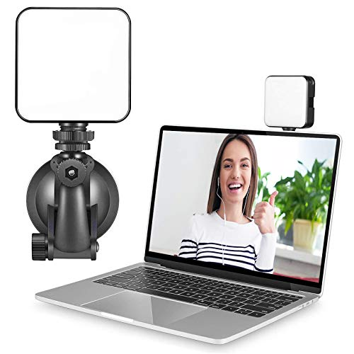 Video Conference Lighting, Zoom Light for Video Conference with Suction Cup, Webcam Lighting for Laptop Video…