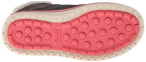 Donne Crocs Allcast Anatra Stivali Impermeabili Donne Gommone Blu (di Sera / Corallo)