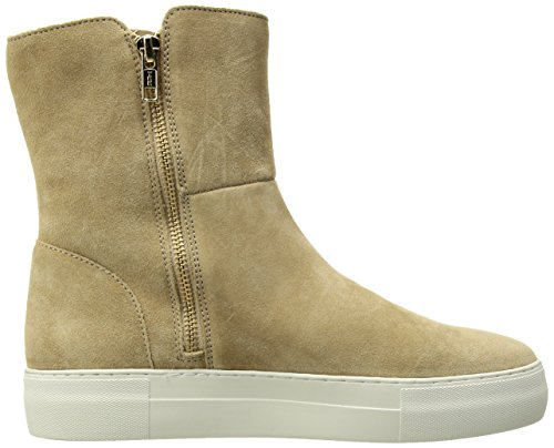 J Slides Jslides Womens Allie Winter Boot In Pelle Scamosciata Sabbia