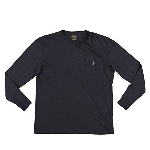 RALPH LAUREN Polo Men s Classic Fit Cotton Pocket T-Shirt, Infinite Grey (XX-Large) (T-shirt Ralph Lauren Pocket)