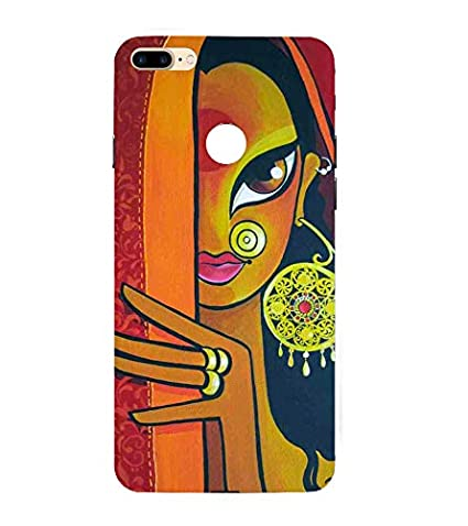 Babula Designer Back Case Cover for Apple iPhone 8 Plus Logo (Lady Women  Girl Girly Indian Printed Cell Phone Cases d584de87e