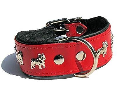 cat-or-dog. Boutique Collar de Luxe Piel Perro: Bulldog, Bulldog ...