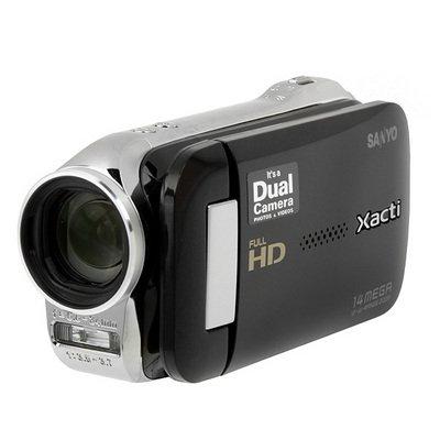 Xacti VPC-GH2 HD Camcorder & 14MP Camera w/12x Optical Zoom - Black
