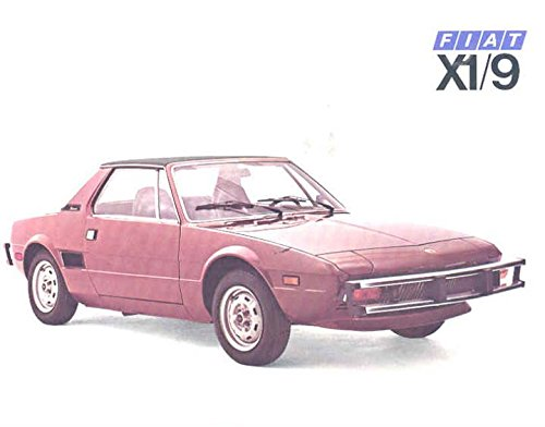 1976 Fiat X19 Sales Brochure, used for sale  Delivered anywhere in USA