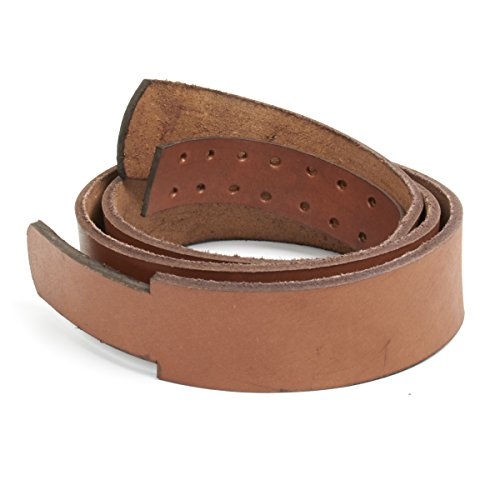 german-wwi-brown-replacement-waist-belt-without-buckle