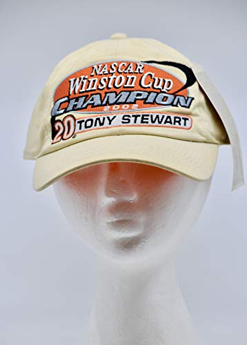 2003 - Action/Chase Authentics - NASCAR Winston Cup champion 2002 - #20 Tony Stewart - The Home Depot/Joe Gibbs Racing Cap - Rare - Adjustable - Collectible