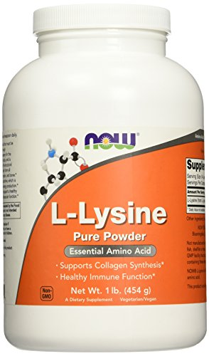 NOW L-Lysine Powder, 1-Pound