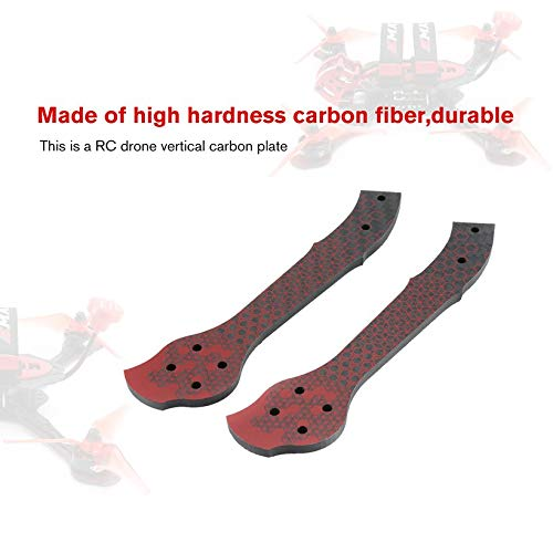 Wikiwand RC Drone Part Carbon Fiber Vertical Arm Plate for EMAX Buzz RC Car Drone Robot by Wikiwand (Image #3)