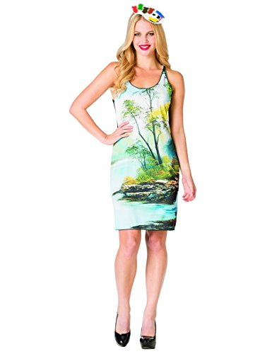 Bob Ross - Painting Tank Dress -