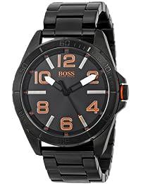 Boss Orange Men's 1513001 Berlin Analog Display Quartz Black Watch