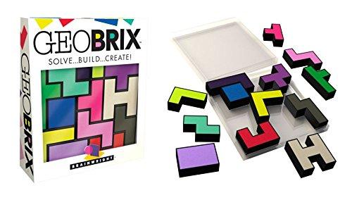 Brainwright GeoBrix, Solve Build Create Puzzle Ceaco 8306