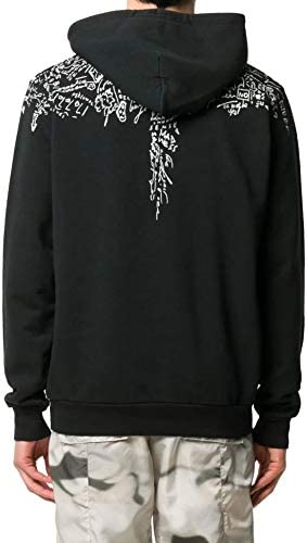 MARCELO BURLON Luxury Fashion Herren CMBB007E20FLE0031001 Schwarz Baumwolle Sweatshirt | Herbst Winter 20