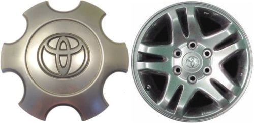 Gosweet 1X Brand NEW One Piece For 2003-2006 Toyota Tundra (Spoke Center Cap)