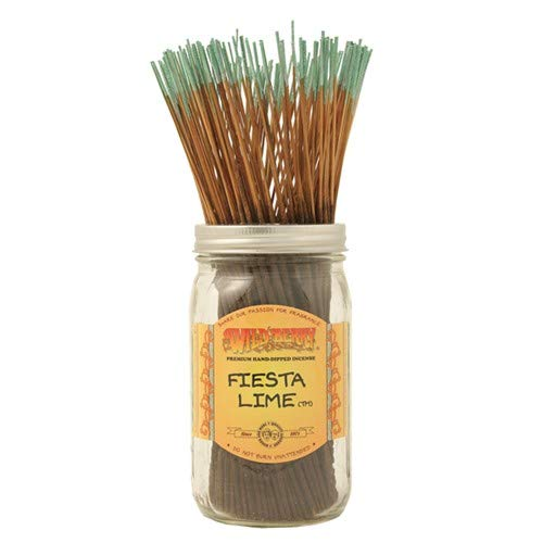 WILDBERRY Fiesta Lime - 100 Incense Sticks by Wild Berry