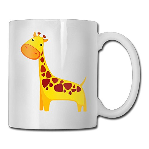 MIFNNN2 Lovely Giraffe 3D Durable Cool Coffee Cup,Our Shop Has More Beautiful Products.