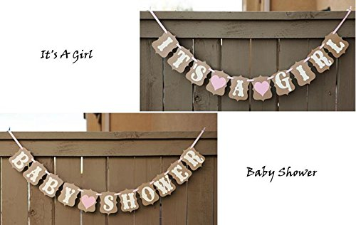 IT'S A GIRL Baby Shower - Days 2 For Pre Usps Shipment