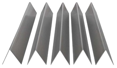 Stainless Flavorizer Bars, Set of 5, 16 Gauge, 17.5