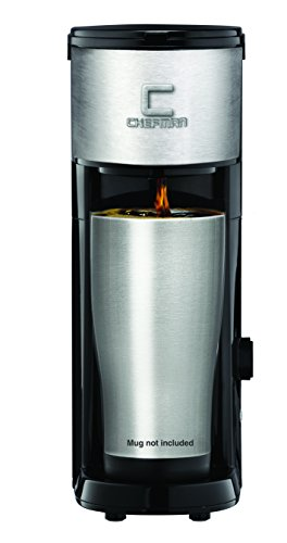Chefman RJ14-SKG Versa Brew & Coffee Ground Brewer, Black