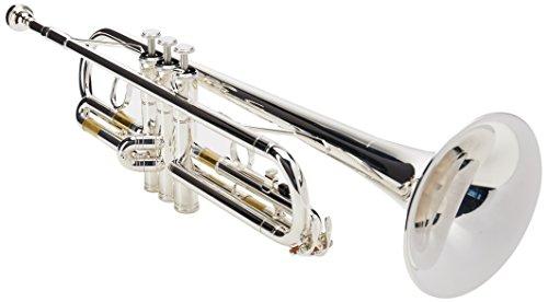 Yamaha YTR2330S Trompeta Bb Estándar, ML, plateada