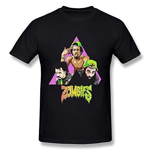 Men's Flatbush ZOMBiES Member Poster T Shirts Latest Black