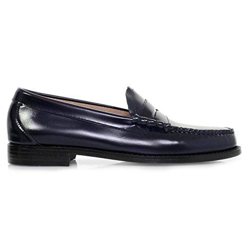Leather Mens Moc Co Shoes G h amp; Blue Bass Larson wxUIq0PBq
