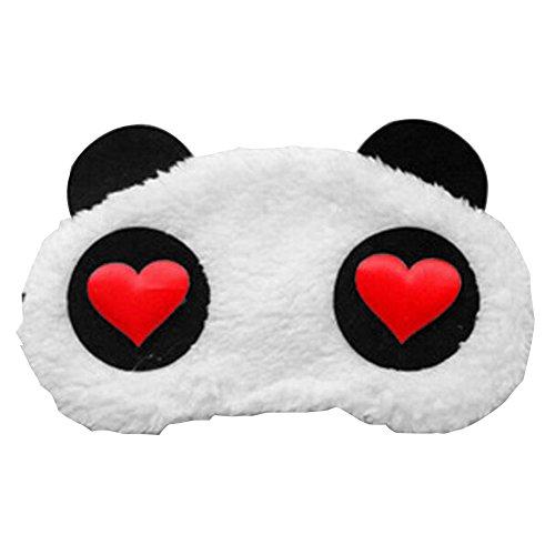 ACTLATI Plush Animal Eye Mask Cute Panda Sleep Blindfold Cov