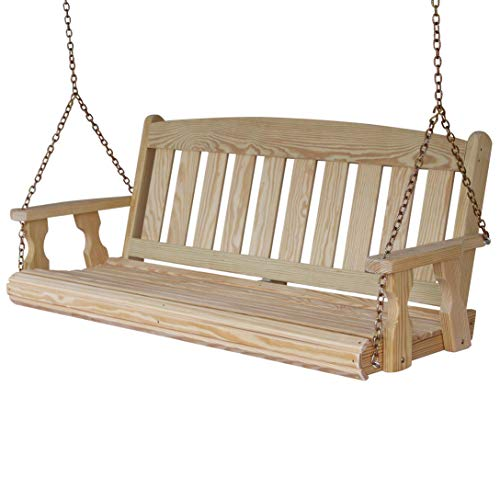 - CAF Amish Heavy Duty 800 Lb Mission 5ft. Treated Porch Swing
