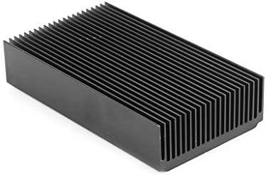 BIlinli DIY Electronic Cooling StripThermal Block Extruded Aluminum Heatsink For High Power LED IC Chip Cooler Radiator Heat Sink