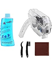 Bike Chain Scrubber Set - Bicycle Chain CLEANING AGENT-Bike Chain Cleaner, Bicycle Durable Chain Gear Wheel Cleaning Brush Kit