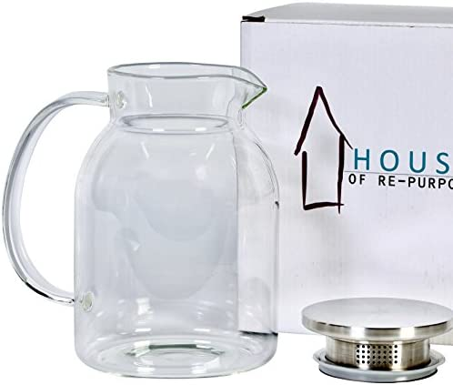 Stainless Borosilicate Decanter Container Pitchers product image