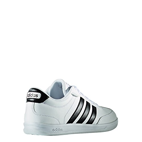 Adidas Cross Court, Baskets mode pour homme, Blanc – (Ftwbla/negbas/negbas) 46 2/3