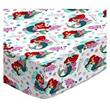 SheetWorld Fitted Sheet (Fits BabyBjorn Travel Crib Light) - Mermaid - Made In USA - 24 inches x 42 inches (61 cm x 106.7 cm)