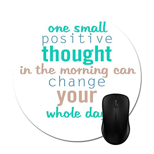 """Good Morning Monday Quotes Mouse Pad Trendy Office Desk Accessory 8"""""""