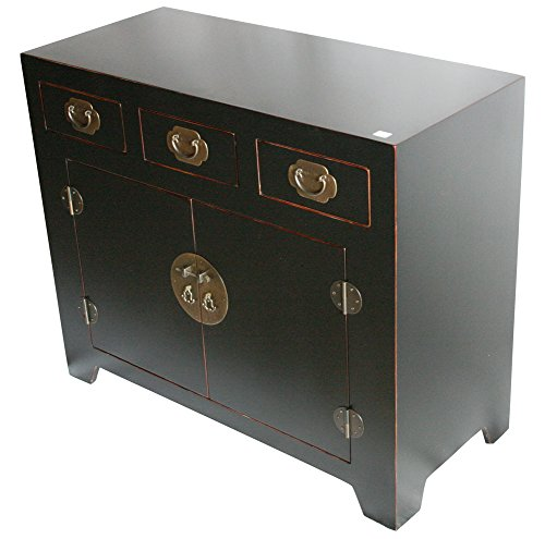 Black Wooden Cabinet Model SC35-B