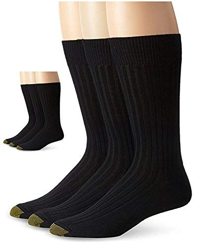 Gold Toe Men's Windsor Wool Sock 2PK(6 pairs)