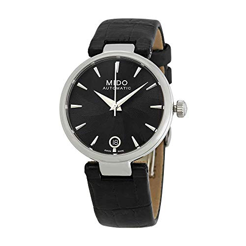 Mido Baroncelli Automatic Black Dial Ladies Watch M022.207.16.051.10