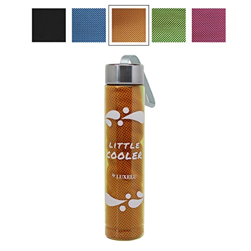 Cooling Towel Exercise Drinking Bottle