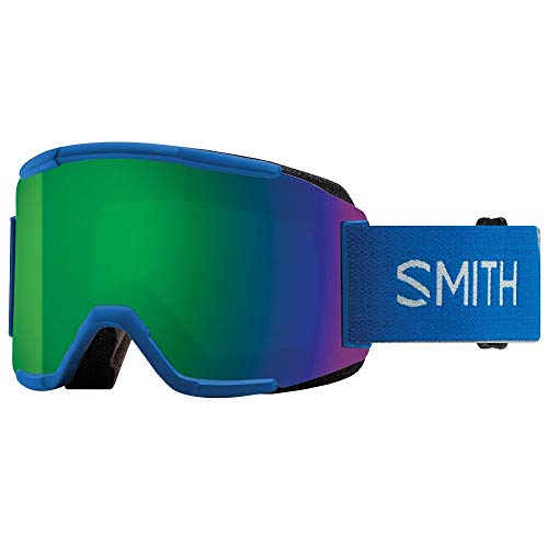 Smith Optics Squad Adult Snow Goggles - Imperial Blue/Chromapop Sun Green Mirror/One Size
