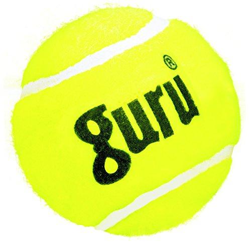 Guru Rubber Cricket Tennis Ball, Size Standard,  Yellow
