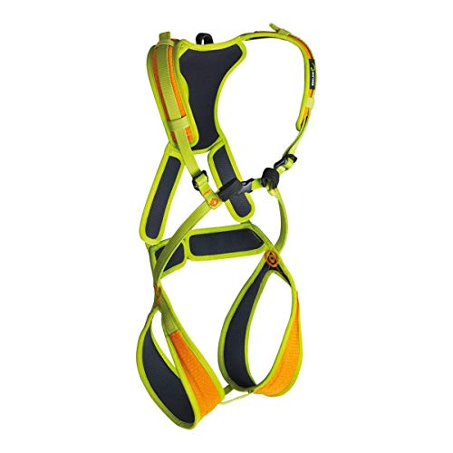 EDELRID Fraggle II Children's Full Body Climbing Harness - Sahara/Oasis X-Small