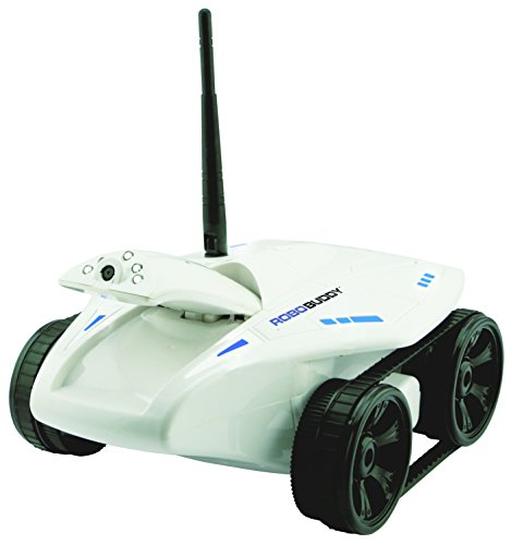 Swift Stream Robobuddy Wireless Remote Control Vehicle, White