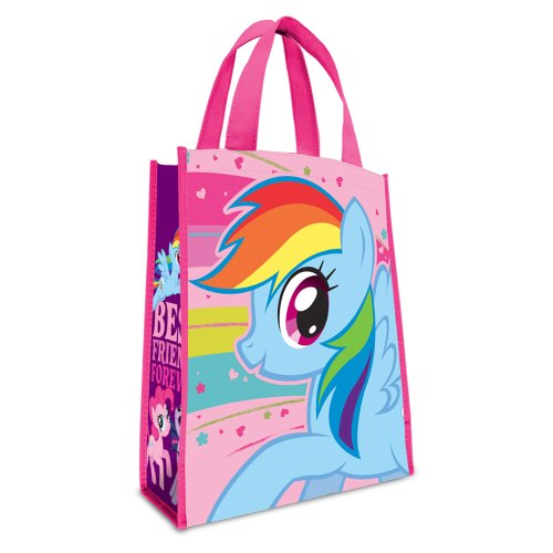 Vandor 42173 My Little Pony Small Recycled Shopper tote, Mulitcolor