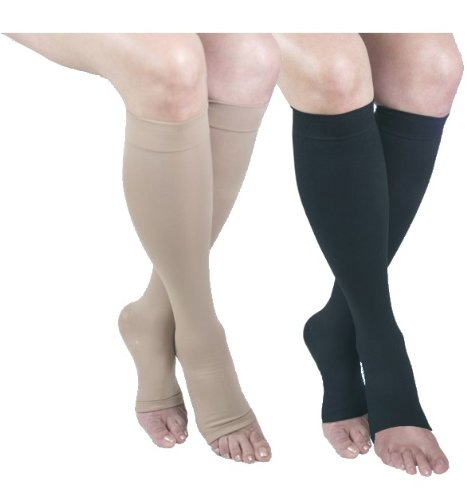 ITA-MED I H-304(O)(2) S BBL Microfiber Knee Highs, Mixed Colors, Small