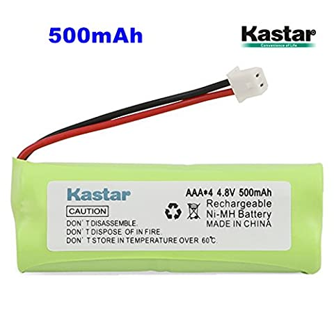 Kastar 1-PACK 4.8V 500mAh Ni-MH Rechargeable Battery Replacement for Dogtra BP12RT Dog Training Collar Receiver and 1900 NCP, 1902 NCP, 300M, YS500, SureStim H Plus, 1900 NCP, 302M and more - 302 Training